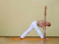 Yoga asana: 020-Parivritta Trikonasana