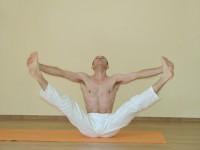 Yoga asana: 147-Upavishta Konasana B