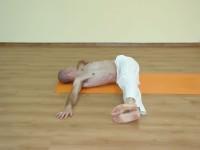 Yoga asana: 226-Jathara Parivartanasana