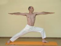Yoga asana: 034-Virabhadrasana B