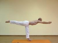 Yoga asana: 035-Virabhadrasana C