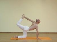 Yoga asana: 133-Vyaghrasana C