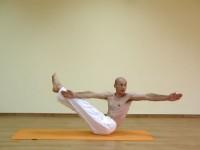 Yoga asana: 143-Niralamba Navasana