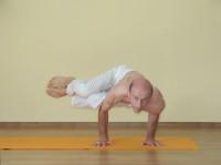 Yoga asana: 164-Parshva Bakasana